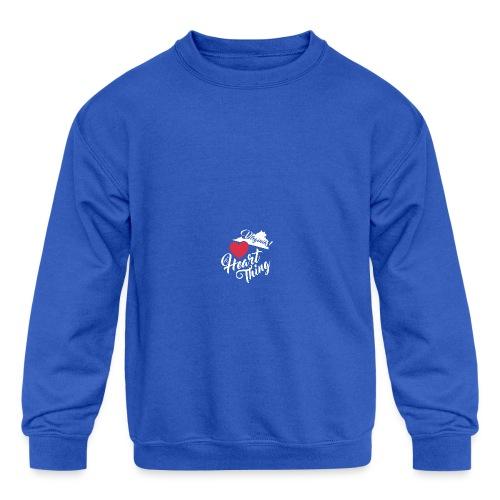 It's a Heart Thing Virginia - Kids' Crewneck Sweatshirt