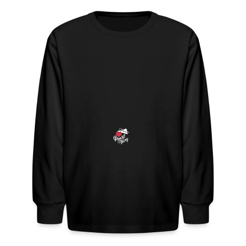 It's a Heart Thing Virginia - Kids' Long Sleeve T-Shirt