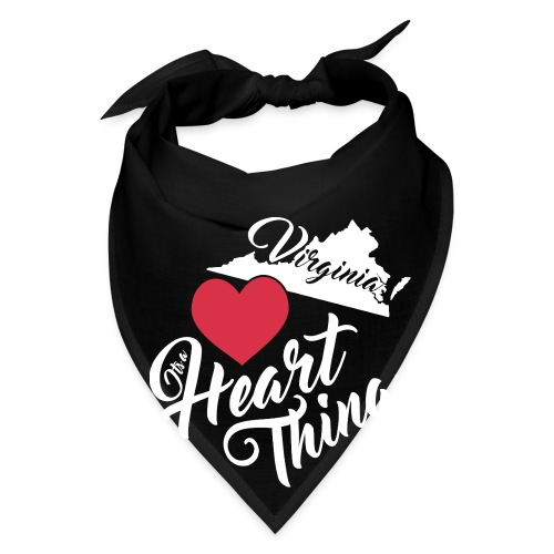 It's a Heart Thing Virginia - Bandana