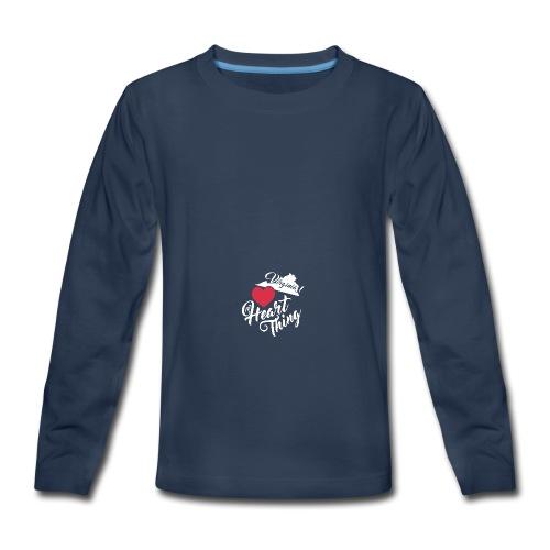 It's a Heart Thing Virginia - Kids' Premium Long Sleeve T-Shirt