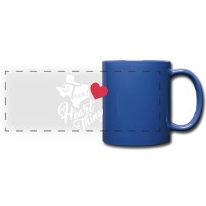 It's a Heart Thing Texas - Full Color Panoramic Mug
