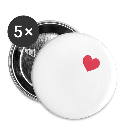 It's a Heart Thing Texas - Large Buttons