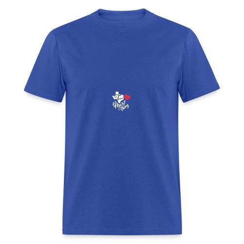 It's a Heart Thing Texas - Men's T-Shirt