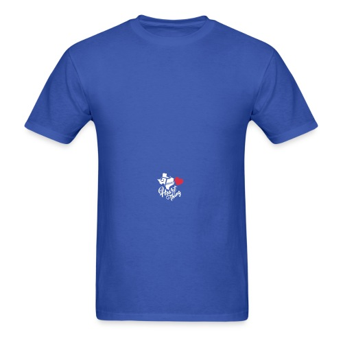It's a Heart Thing Texas - Men's T-Shirt