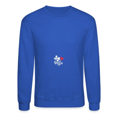 It's a Heart Thing Texas - Crewneck Sweatshirt