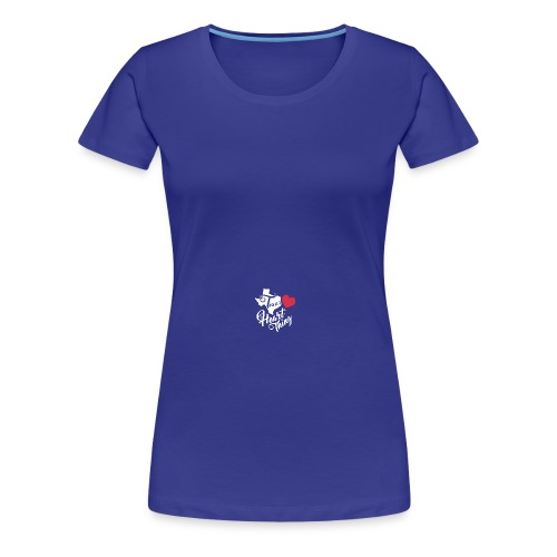 It's a Heart Thing Texas - Women's Premium T-Shirt