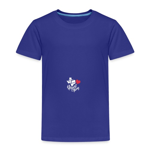 It's a Heart Thing Texas - Toddler Premium T-Shirt