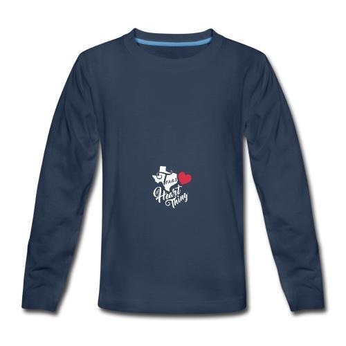 It's a Heart Thing Texas - Kids' Premium Long Sleeve T-Shirt