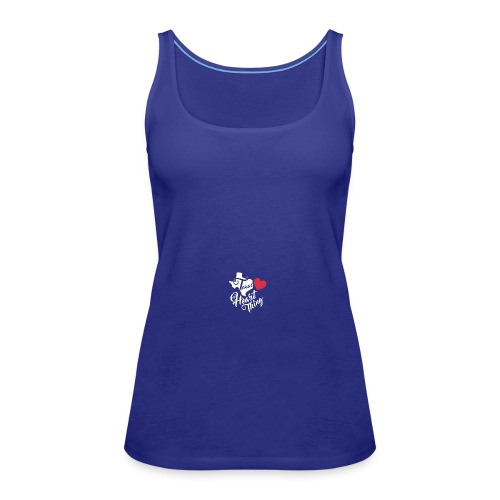 It's a Heart Thing Texas - Women's Premium Tank Top