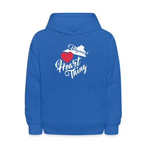It's a Heart Thing Virginia - Kids' Hoodie
