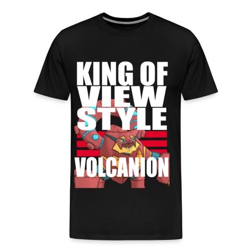KING OF VIEW STYLE - VOLCANION - Men's Premium T-Shirt