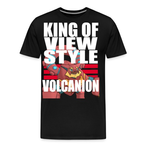 KING OF VIEW STYLE - VOLCANION - Men's Premium T-Shirt