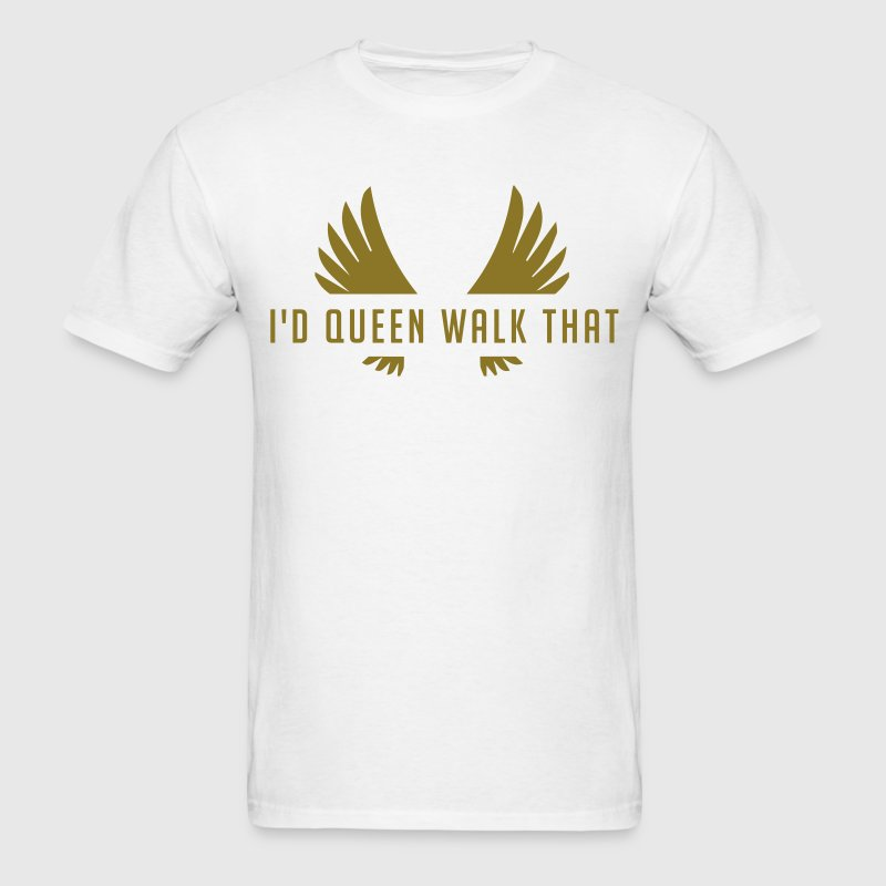 Clash of Clans Queen Walk - Gold Metallic - Men's T-Shirt
