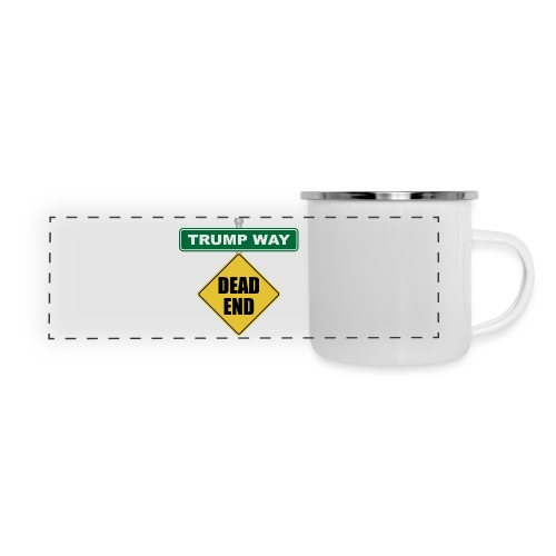 Anti-Trump Dead End - Panoramic Camper Mug