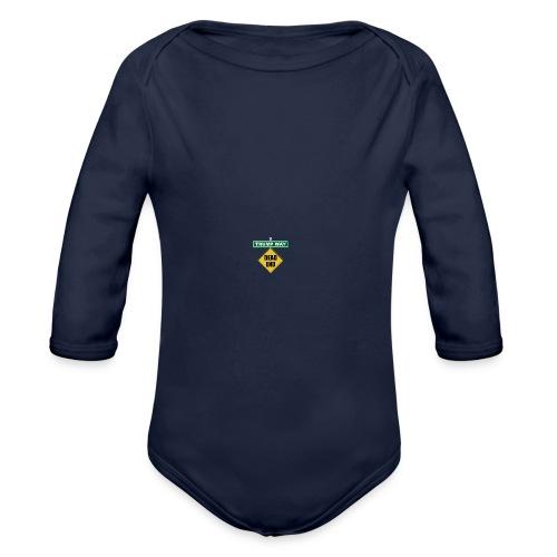 Anti-Trump Dead End - Organic Long Sleeve Baby Bodysuit