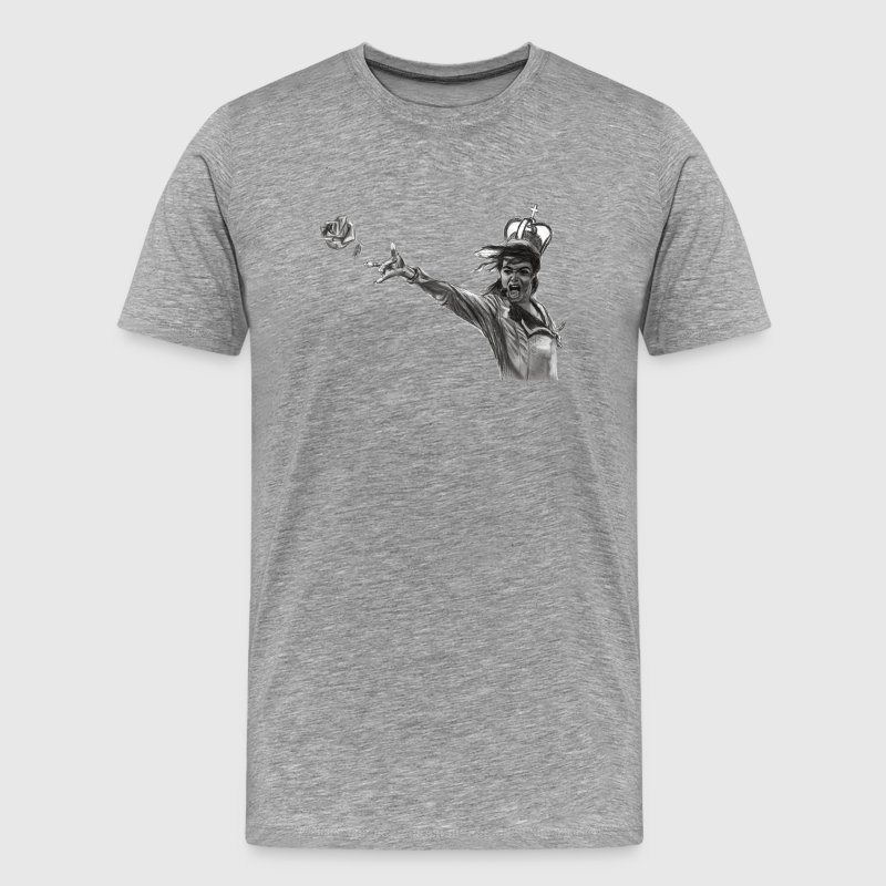 throwing a flower T-Shirts - Men's Premium T-Shirt