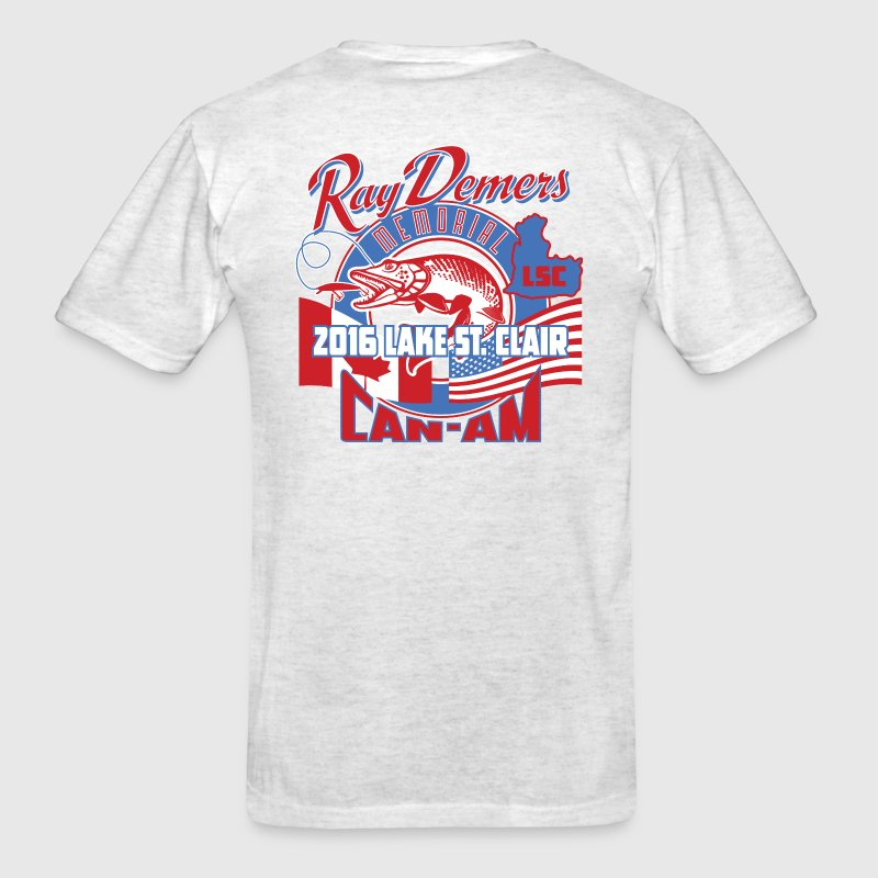 Ray Demers 2016 Can-Am Memorial Muskie Tournament  - Men's T-Shirt