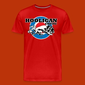 Hooligan Mod Burgandy - Men's Premium T-Shirt