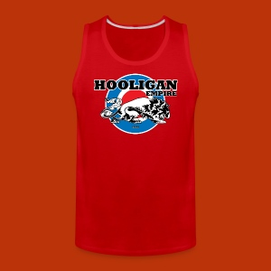 Hooligan Mod Burgandy - Men's Premium Tank
