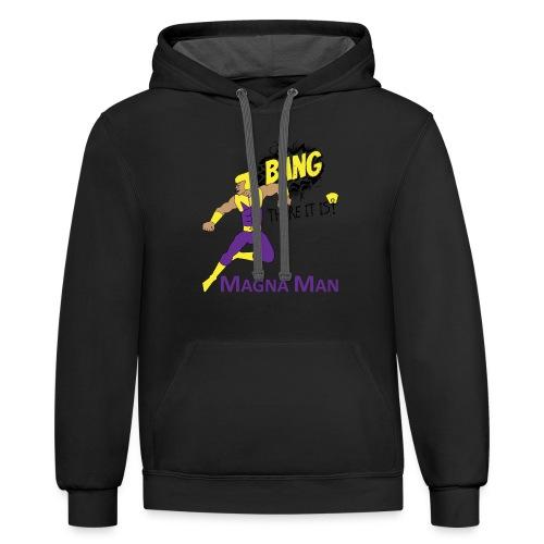 Magna Man Bang Women's T-shirt - Contrast Hoodie