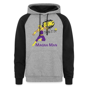 Magna Man Bang Women's T-shirt - Colorblock Hoodie