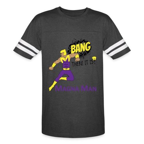 Magna Man Bang Women's T-shirt - Vintage Sport T-Shirt
