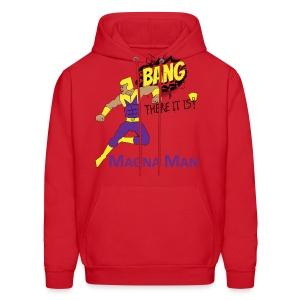 Magna Man Bang Women's T-shirt - Men's Hoodie
