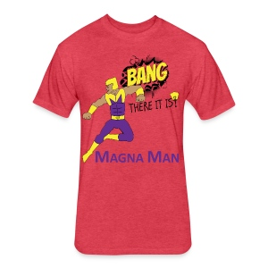 Magna Man Bang Women's T-shirt - Fitted Cotton/Poly T-Shirt by Next Level
