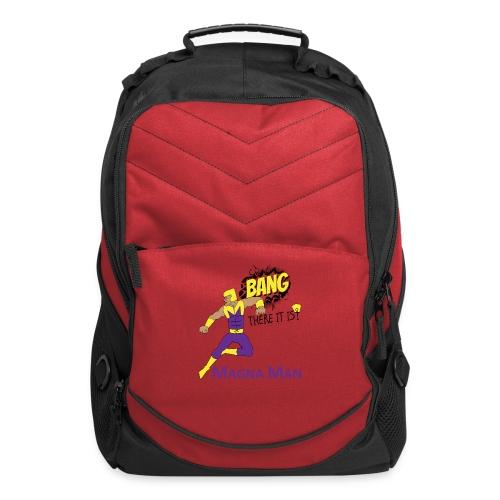 Magna Man Bang Women's T-shirt - Computer Backpack