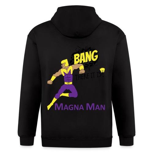 Magna Man Bang Women's T-shirt - Men's Zip Hoodie