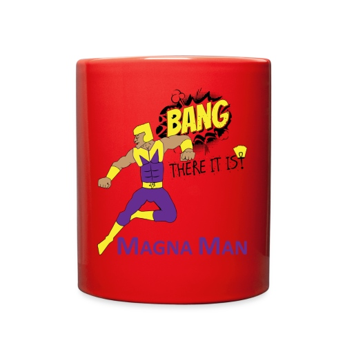 Magna Man Bang Women's T-shirt - Full Color Mug