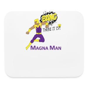 Magna Man Bang Women's T-shirt - Mouse pad Horizontal