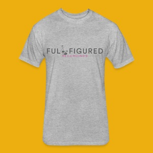 Full-Figured Logo - Fitted Cotton/Poly T-Shirt by Next Level