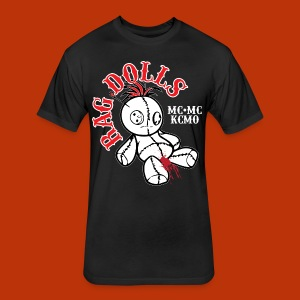 Rag Dolls MC MC - Fitted Cotton/Poly T-Shirt by Next Level