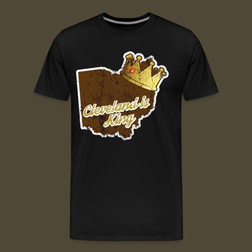 Cleveland Is King - Men's Premium T-Shirt
