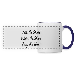Love The Shoes - Panoramic Mug