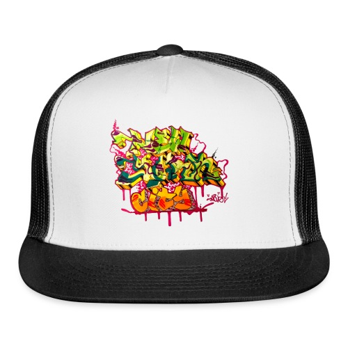 POVE - Design for New York Graffiti Color Logo - Trucker Cap