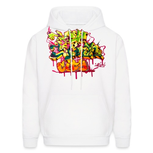 POVE - Design for New York Graffiti Color Logo - Men's Hoodie