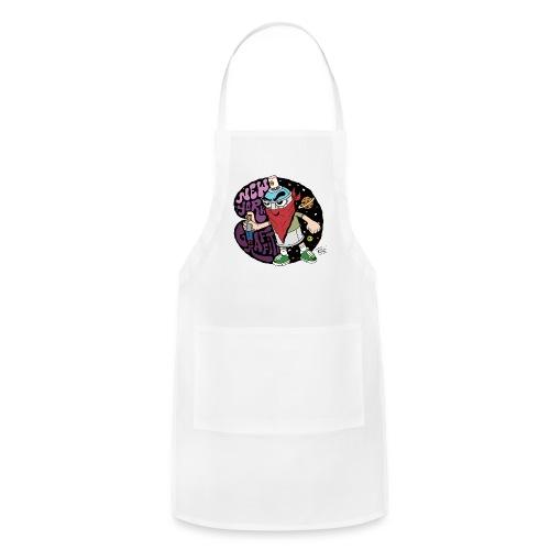 PURE - Design for New York Graffiti Color Logo - Adjustable Apron