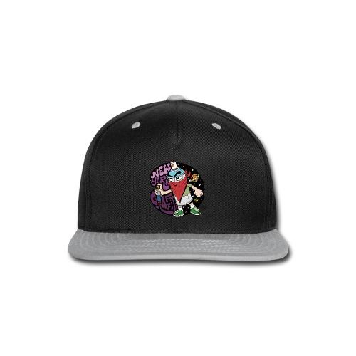 PURE - Design for New York Graffiti Color Logo - Snap-back Baseball Cap