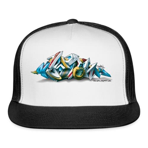 Phame Design for New York Graffiti  - 3D Style - Trucker Cap