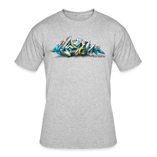 Phame Design for New York Graffiti  - 3D Style - Men's 50/50 T-Shirt