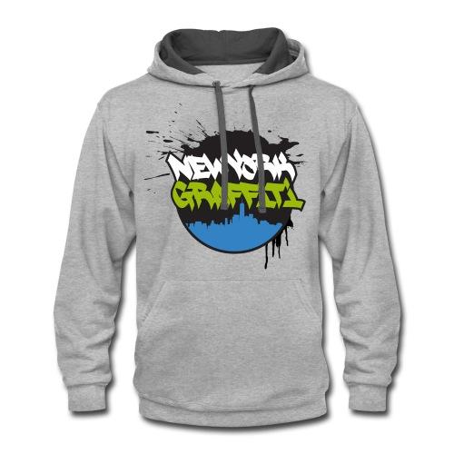 VERS - Design for New York Graffiti Color Logo - Contrast Hoodie