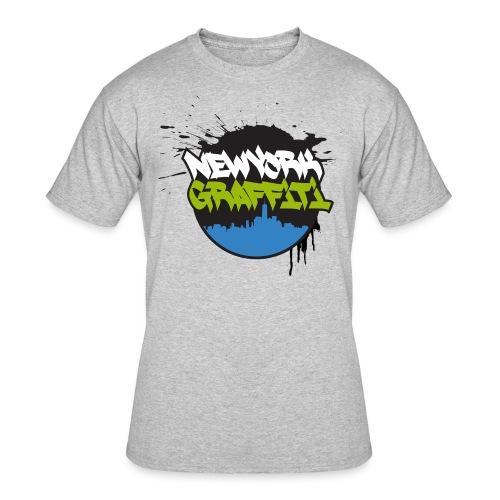 VERS - Design for New York Graffiti Color Logo - Men's 50/50 T-Shirt