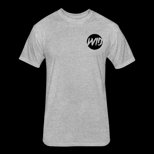 WiD Circle Sweater - Fitted Cotton/Poly T-Shirt by Next Level