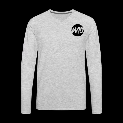 WiD Circle Sweater - Men's Premium Long Sleeve T-Shirt
