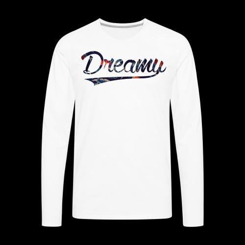 WiD Script Floral - Men's Premium Long Sleeve T-Shirt