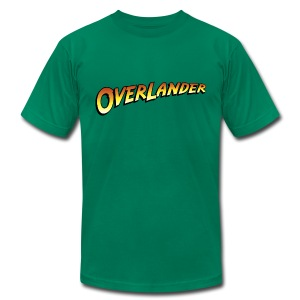 Overlander - Men's T-Shirt by American Apparel