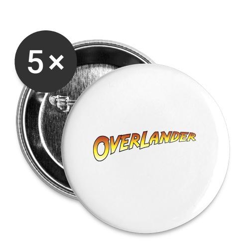 Overlander - Buttons large 2.2'' (5-pack)