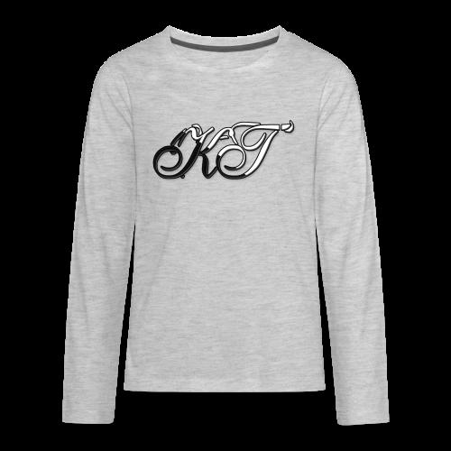 KhyrasTech Logo Kid's Hoodie - Kids' Premium Long Sleeve T-Shirt
